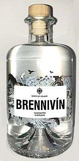 Brennivín Icelandic alcohol beverage