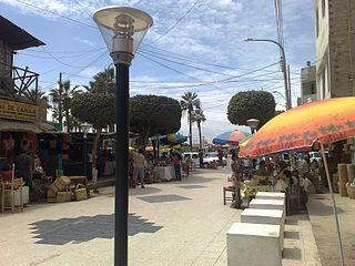 Chincha Alta Town in Ica, Peru