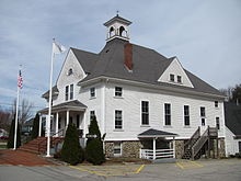 Boxborough Town Hall, March 2010, MA.jpg