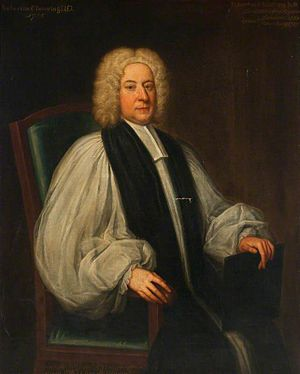 Robert Clavering - Image: Bp Robert Clavering by Thomas Gibson