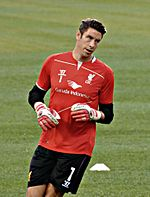 Brad Jones Liverpool 2014 (cropped) Roma.jpg