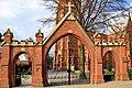 Brama ogrodzenia kościoła św. Jana Chrzciciela w Raciborzu.JPG