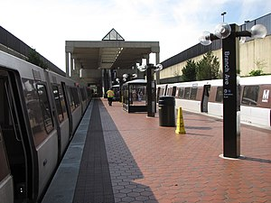 Branch Avenue station from platform.jpg