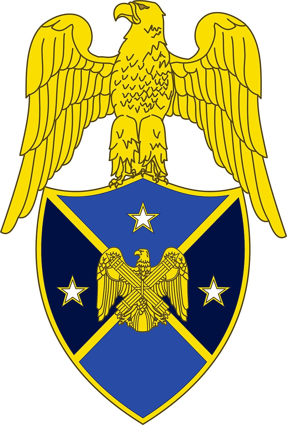 Branch insignia, Aide to Vice Chief, National Guard Bureau