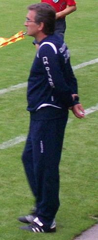 Ivanković in 2008 als trainer van Dinamo Zagreb.