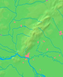 Bratislava markerat på Bratislavaregionkartan.
