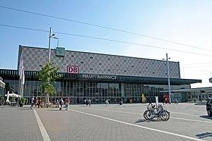 Hanover–Brunswick railway - Brunswick Hauptbahnhof, opened in 1960