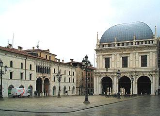 Piazza della Loggia bombing - Piazza della Loggia, located in the town of Brescia in Lombardy