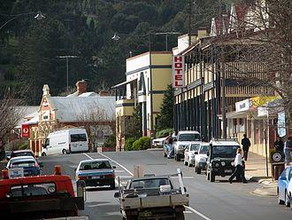 Bridgetown, Western Australia - The main street of Bridgetown (South Western Highway)