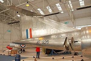 Bristol 188 - Bristol 188 at the RAF Museum, Cosford.