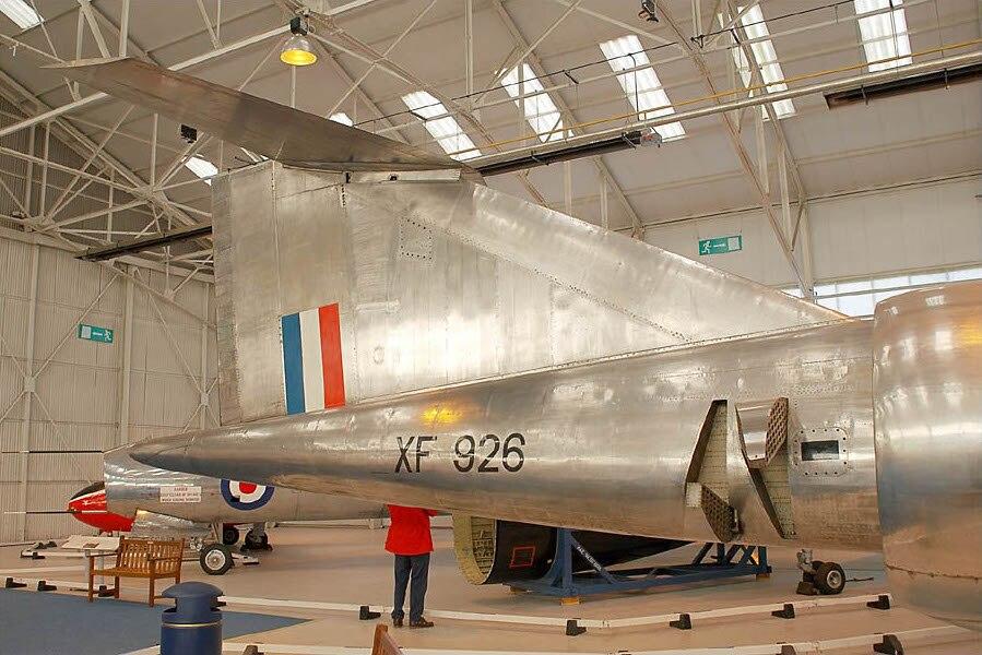 Bristol Type 188 (XF926) tail