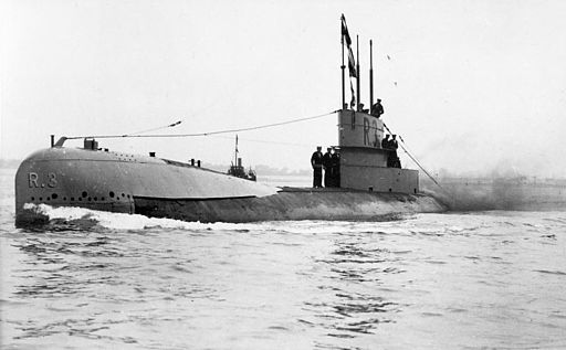 British WWI Submarine HMS R3