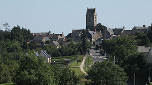 Brix, Manche - View of the village
