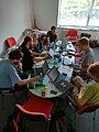 Brno, Wikivýstaviště 2018-05-12, encyklopedická práce (15.26.35).jpg