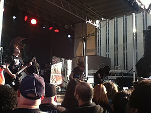 Maryland Deathfest - Broken Hope performing.