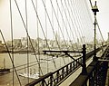 Brooklyn Bridge, New York City, New York, 1908, August Loeffler (37627156146).jpg