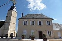 Brunelles mairie église Saint-Martin Eure-et-Loir France.jpg