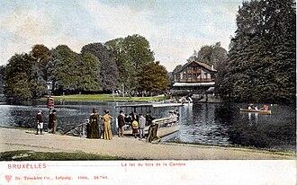 Bois de la Cambre - Image: Brussels,Bois de la Cambre.Chalet Robinson
