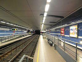 Parvis de Saint-Gilles/Sint-Gillis Voorplein premetro station