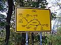 Bubeneč, Stromovka, plán cyklotras.jpg