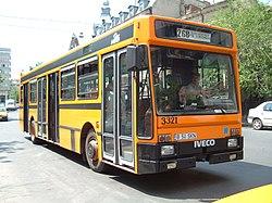 Autobus Iveco TurboCity U 480 w Bukareszcie w 2006 roku