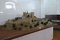 Buchlov, model hradu 01.jpg
