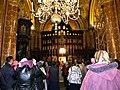 Bucuresti, Romania. Biserica Amzei, 2.10.2017. Sfantul Maslu. (Interior cu enoriasi la Sfantul Maslu).jpg