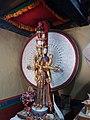 Buddhist statue in Tsemo temple, Leh.jpg