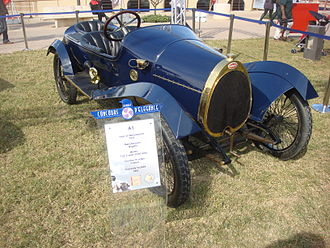 Bugatti Type 13 - Bugatti 1913, model T22, three-seat vinet boday