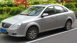Buick Excelle - Image: Buick Excelle facelift 01 China 2012 04 22