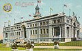 Building proposed as Fisheries Building, built (with same exterior) as European Building, Alaska-Yukon-Pacific-Exposition, Seattle, Washington, 1909 (AYP 845).jpg