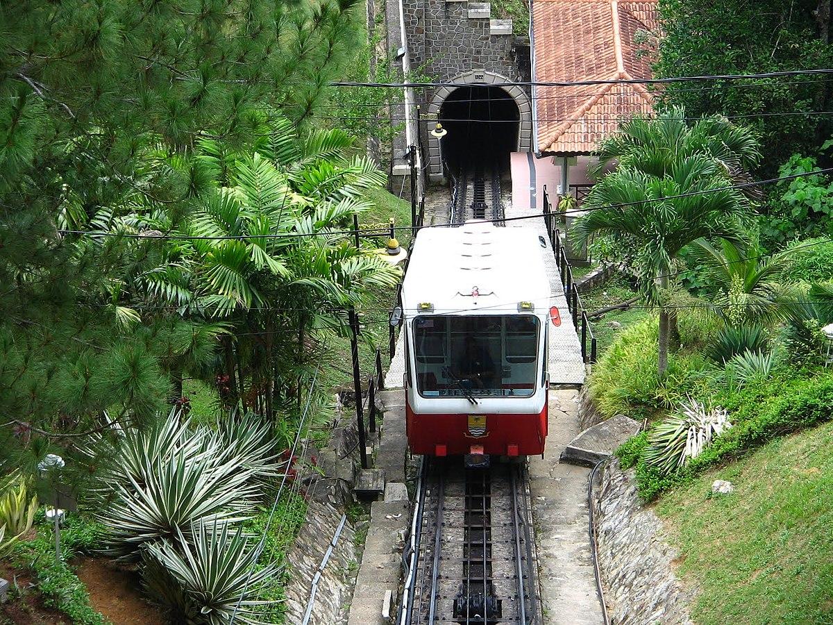 Kereta api bukit - Wikipedia Bahasa Melayu, ensiklopedia bebas