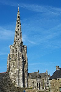 Bulat Pestivien - Bretagne - France - Eglise Church Notre-Dame 2003.jpg