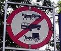 Bullock cart sign india.JPG