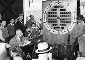 Dutch auction - A 1957 Dutch auction in Germany to sell fruit.