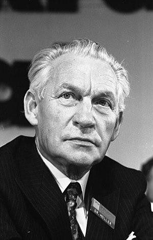 Alex Möller - Möller in 1973