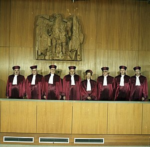 Federal Constitutional Court - First Senate 1989