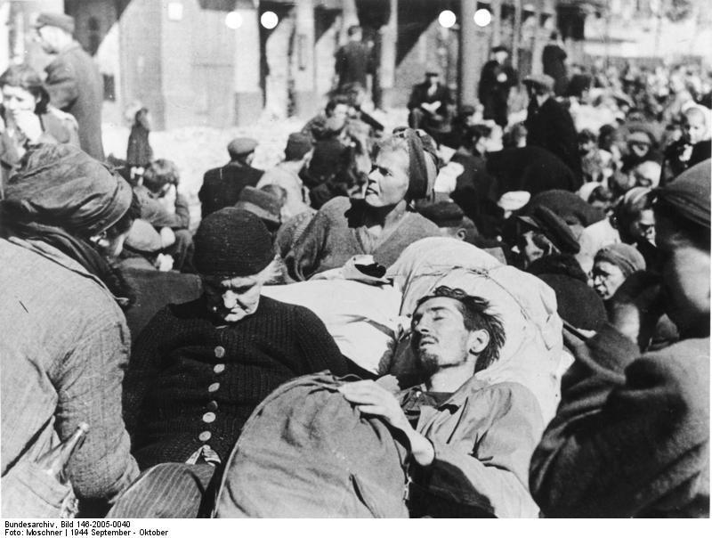 Bundesarchiv Bild 146-2005-0040, Warschauer Aufstand, Kapitulation