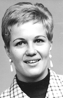 Ingrid Krämer in 1968