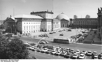How to get to Bebelplatz with public transit - About the place