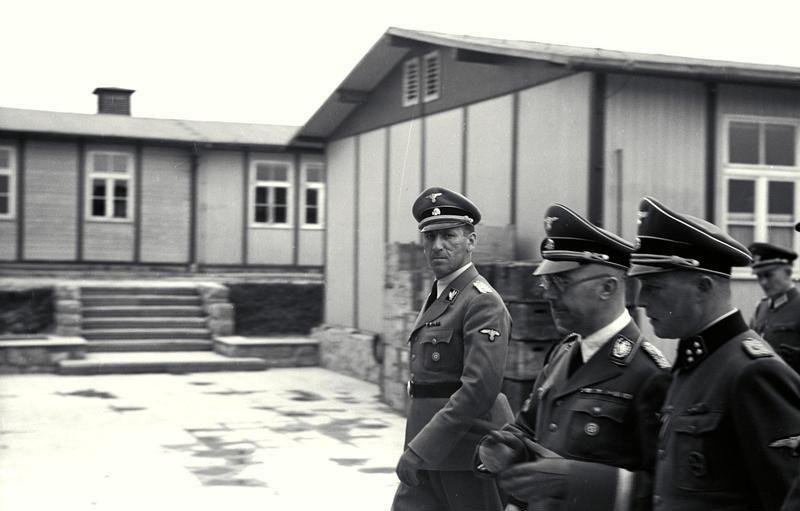Bundesarchiv Bild 192-029, KZ Mauthausen, Himmler, Kaltenbrunner, Ziereis