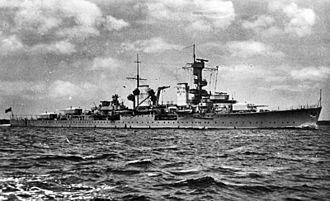 "Königsberg-class cruiser (1927) - Image: Bundesarchiv DVM 10 Bild 23 63 35, Leichter Kreuzer der ""K Klasse"""