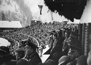 1936 in Germany - Image: Bundesarchiv R 8076 Bild 0005, Olympische Winterspiele. Eröffnung