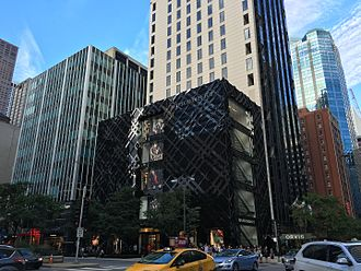 Burberry - Burberry Chicago flagship store on the Magnificent Mile, built in 2012.