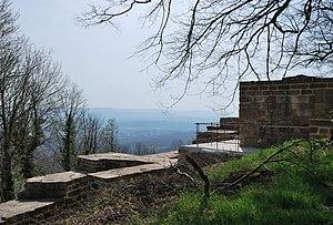 Hohenstaufen Castle - Image: Burgruine Hohenstaufen (2)