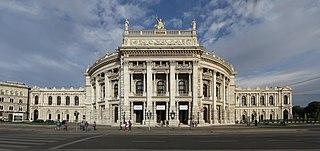 Burgtheater state drama theatre in Vienna, Austria