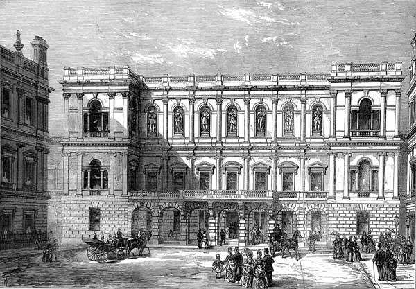 Burlington House ILN 1874