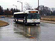A Burlington Transit bus