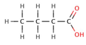 Acid strength - Image: Butanoic