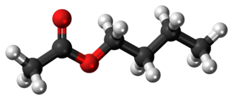 Butyl acetate - Image: Butyl acetate 3D ball